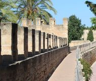 Old fortress in Alcudia, Mallorca Stock Photos