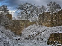 Old fortress in Ardennes Stock Image