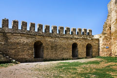 Old fortress  in Belgorod-Dniester Royalty Free Stock Image