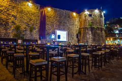 Old fortress in Budva, Montenegro Royalty Free Stock Photography