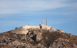 Old fortress in Cartagena, Spain Stock Image