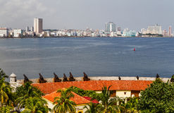 Old fortress. In the centre of Havana Stock Images