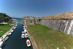 Old Fortress at Corfu, Greece Royalty Free Stock Photography