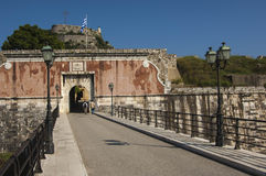 Old Fortress Corfu Stock Image