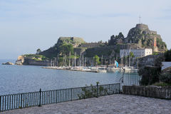 The Old Fortress of Corfu, Greece Stock Photo