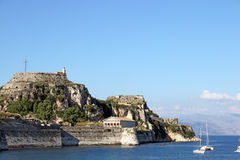 Old fortress Corfu island Stock Image