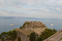 Old fortress of Corfu Stock Photography