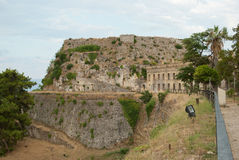 Old fortress of Corfu Royalty Free Stock Photos