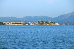 Old fortress Corfu island Stock Images