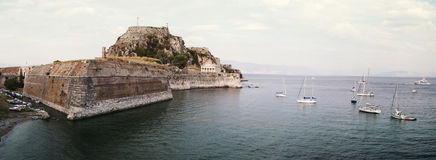 Old fortress of Corfu Royalty Free Stock Image
