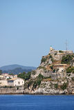 Old fortress Corfu town Royalty Free Stock Photo