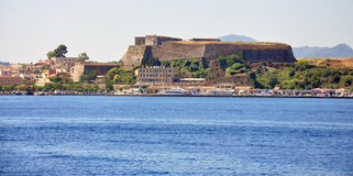 Old Fortress, Corfu Town, Greece, Europe Stock Images