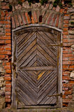 Old fortress door Royalty Free Stock Images
