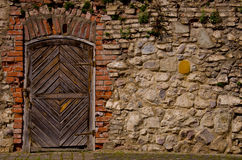 Old fortress door Stock Photos