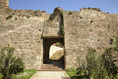 Old fortress in Durres. Albania Royalty Free Stock Images