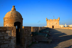 Old Fortress of Essaouira Royalty Free Stock Photo