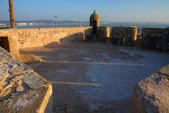 Old Fortress of Essaouira Stock Photo