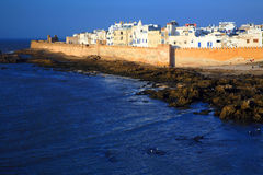Old Fortress of Essaouira royalty free stock photography