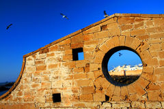 Old Fortress of Essaouira Royalty Free Stock Images