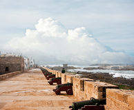 Old fortress in Essaouira Royalty Free Stock Photos