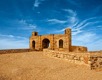 Old fortress in Essaouira overlooking the Atlantic Ocean Royalty Free Stock Photo