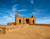 Old fortress in Essaouira Royalty Free Stock Image