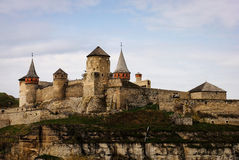 Old fortress. Famous old fortress in Ukraine Stock Images