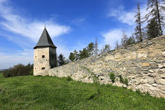 Old fortress in forest Royalty Free Stock Photos