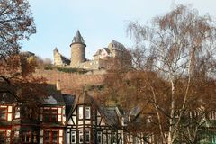 The old fortress in Germany Royalty Free Stock Image