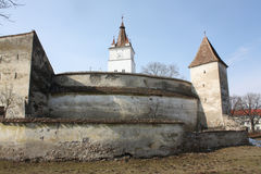 Old fortress of Harman Stock Photo