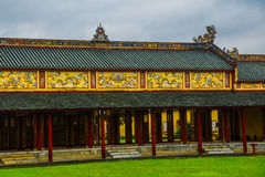 Old fortress, HUE, VIETNAM Royalty Free Stock Photo
