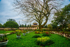 Old fortress, HUE, VIETNAM Stock Photography