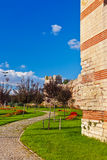 Old fortress at Istanbul Turkey Royalty Free Stock Image