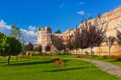 Old fortress at Istanbul Turkey Stock Photography