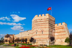 Old fortress at Istanbul Turkey Stock Photo