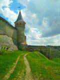 The Old Fortress, Kamenets-Podolsky, Ukraine royalty free stock photography