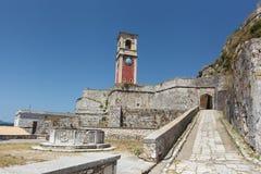 Old fortress of Kerkyra city. Corfu Stock Photos