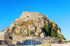 Old Fortress in Kerkyra, Corfu island Royalty Free Stock Photo