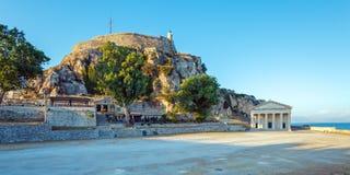 Old Fortress in Kerkyra, Corfu island Royalty Free Stock Image