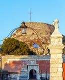 Old Fortress in Kerkyra, Corfu island Stock Photo