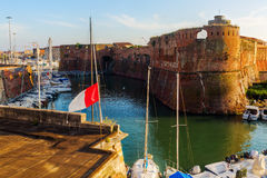 Old Fortress in Livorno, Italy Stock Images
