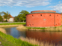 Old fortress in Malmo, Sweden. Old fortress in old part of Malmo, Sweden Stock Image