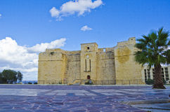 Old Fortress, Malta. St Thomas Tower in Marsascala, Malta Stock Images