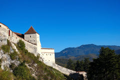 Old fortress in the mountains Royalty Free Stock Photography