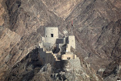 Old fortress in Muscat Stock Photography