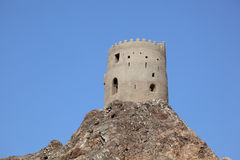 Old fortress in Muscat, Oman Stock Images