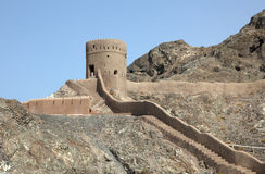 Old fortress in Muscat, Oman Stock Photography