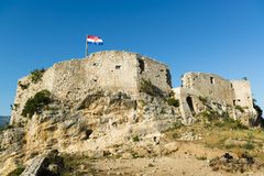 Old fortress of novigrad Royalty Free Stock Photos