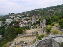 Old fortress in the Old Bar Montenegro. Royalty Free Stock Images