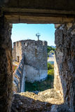 Old fortress on the river Dniester in town Bender, Transnistria. City within the borders of Moldova under of the control unrecogni Stock Photography